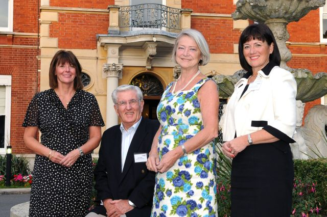 kate adie at disability challengers business club gala supper